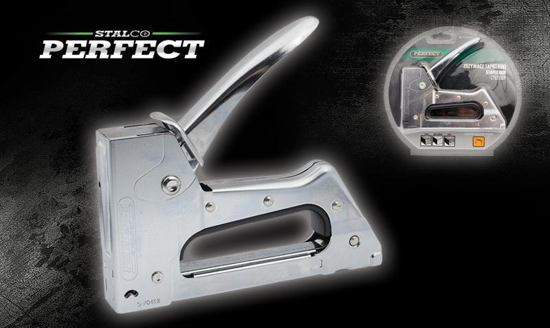 Zszywacz tapicerski metalowy A:6-10mm  STALCO  PERFECT - BR-Stalco Leżajsk