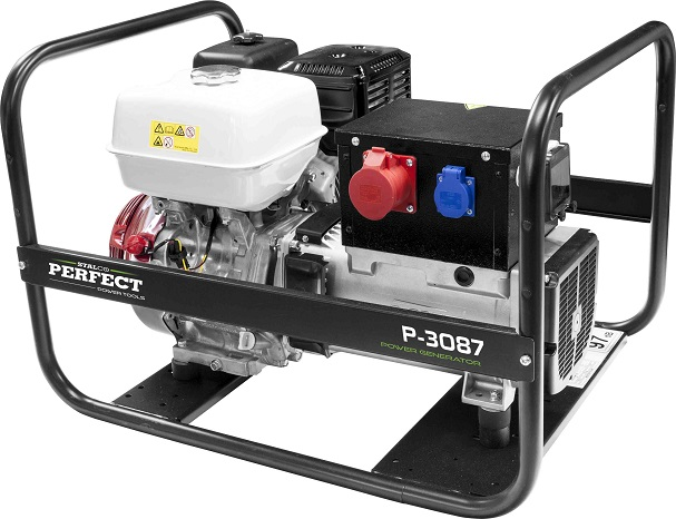 Agregat prądotwórczy 400V / 8,7kW  STALCO  PERFECT - BR-Stalco Leżajsk