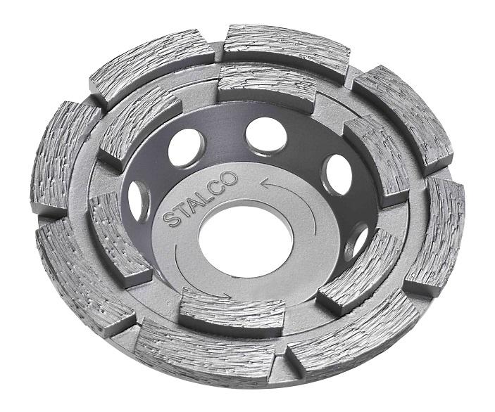 Tarcza diamentowa szlifierska 2-rzędowa  STALCO  PREMIUM - BR-Stalco Leżajsk