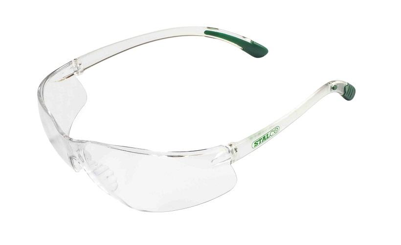 Okulary przeciwodpryskowe soczewka bezbarwna elastyczne     STALCO PREMIUM - BR-Stalco Leżajsk