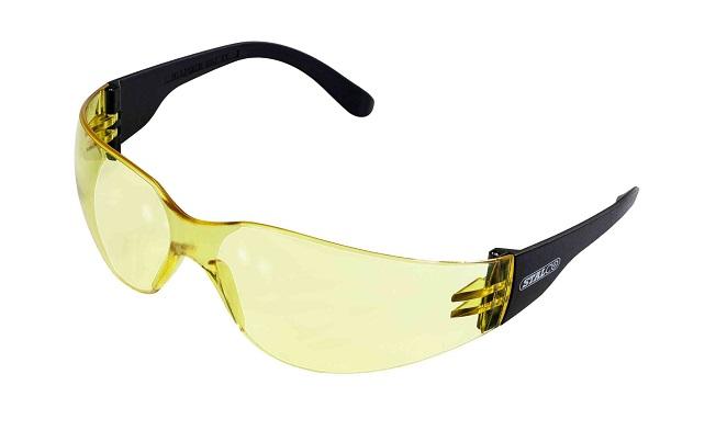 Okulary przeciwodpryskowe soczewka żółta     STALCO - BR-Stalco Leżajsk