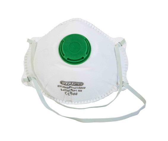 Maska przeciwpyłowa z zaworkiem  FERGUS  TYP FF1     STALCO - BR-Stalco Leżajsk