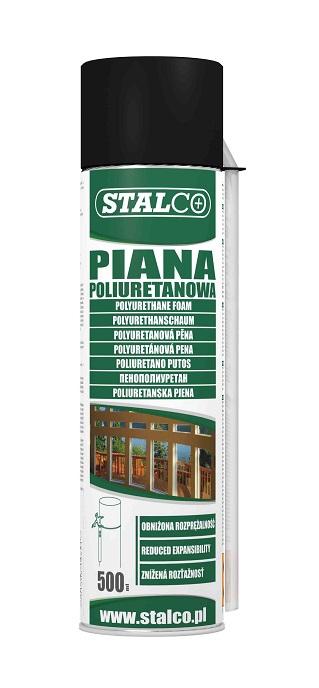 Piana montażowa STALCO 500ml               WĘŻYK - BR-Stalco Leżajsk