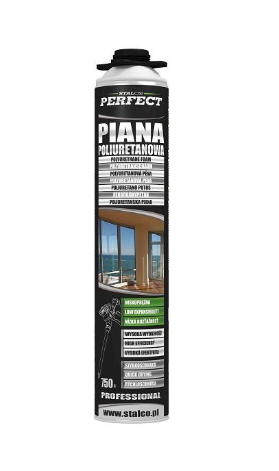 Piana mont.PERFECT 750ml              PISTOLET - BR-Stalco Leżajsk