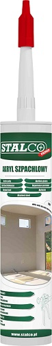 Akryl szpachlowy 300ml biały STALCO - BR-Stalco Leżajsk