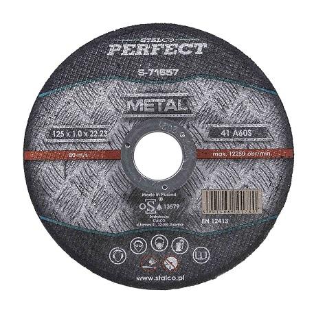 Tarcza do cięcia metalu – płaska    PERFECT - BR-Stalco Leżajsk