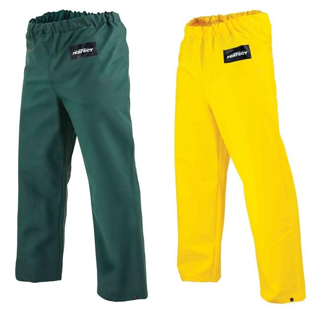 Spodnie wodoodporne  AQUA T  ( żółte/zielone )  STALCO PERFECT - BR-Stalco Leżajsk