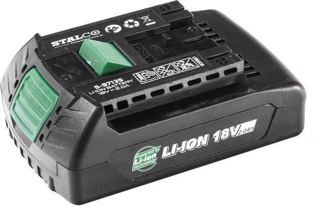 Akumulator LI-ION 18V 2Ah.  STALCO - BR-Stalco Leżajsk