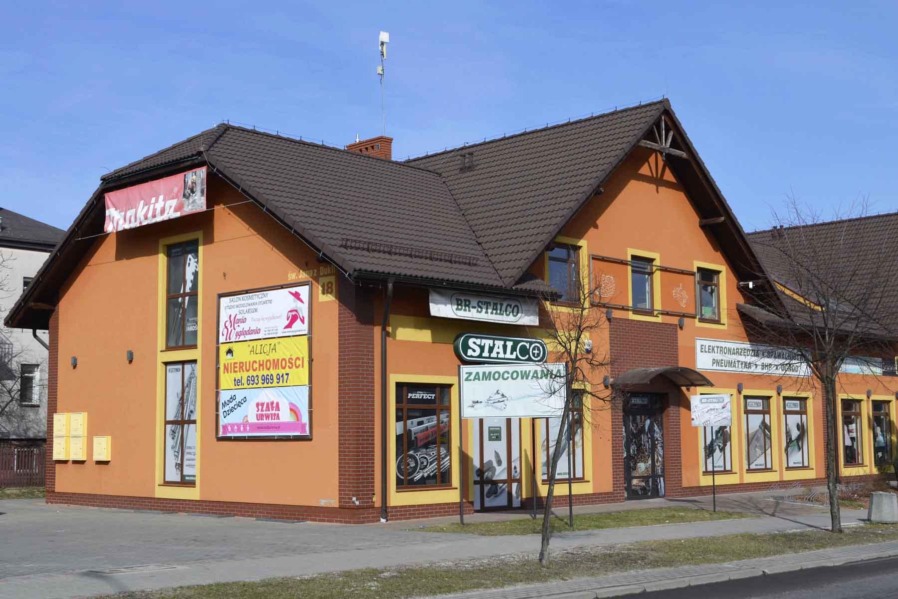 Sklep stacjonarny - BR-Stalco Leżajsk
