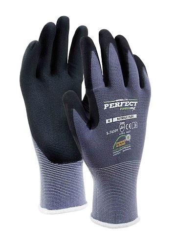 Rękawice nylonowe  NITRILE FLEX    STALCO POWERMAX - BR-Stalco Leżajsk