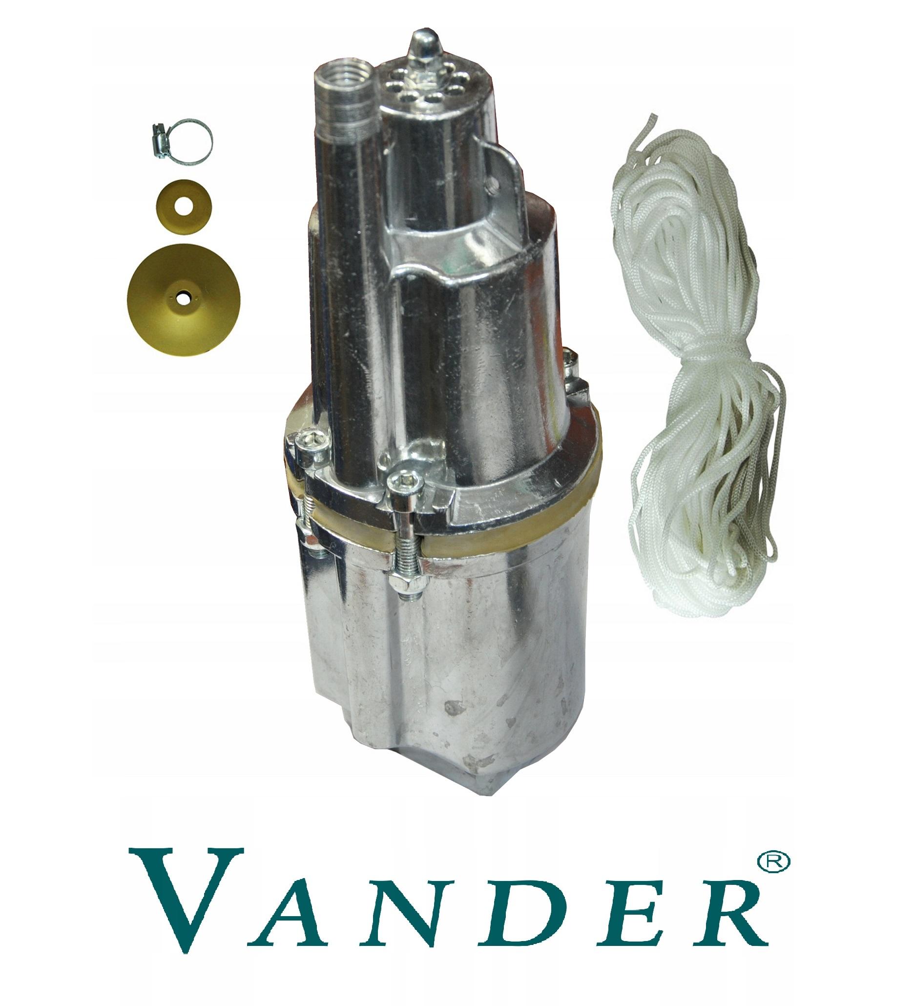 Pompa nurek do wody     VANDER  VP708 - BR-Stalco Leżajsk