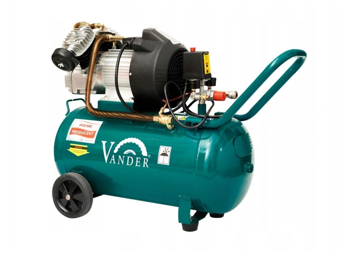 Sprężarka powietrza 2 tłoki   50L     VANDER VSP760 - BR-Stalco Leżajsk
