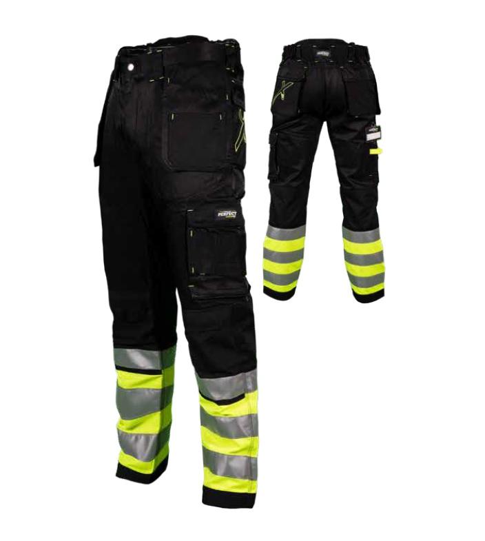 Spodnie robocze  DURA TWILL  X  czarne   STALCO POWERMAX - BR-Stalco Leżajsk