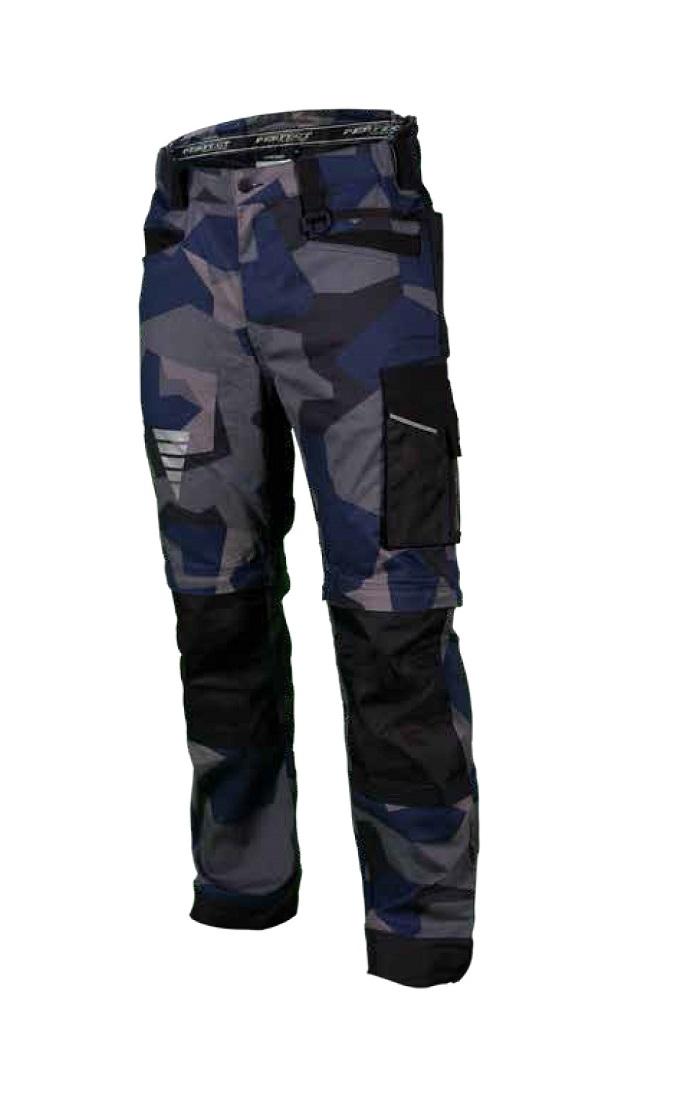 Spodnie robocze  MORO X  NAVY  granatowe   STALCO POWERMAX - BR-Stalco Leżajsk