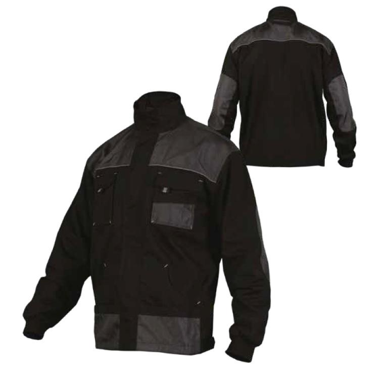Bluza robocza  BASIC LINE   czarna  STALCO - BR-Stalco Leżajsk