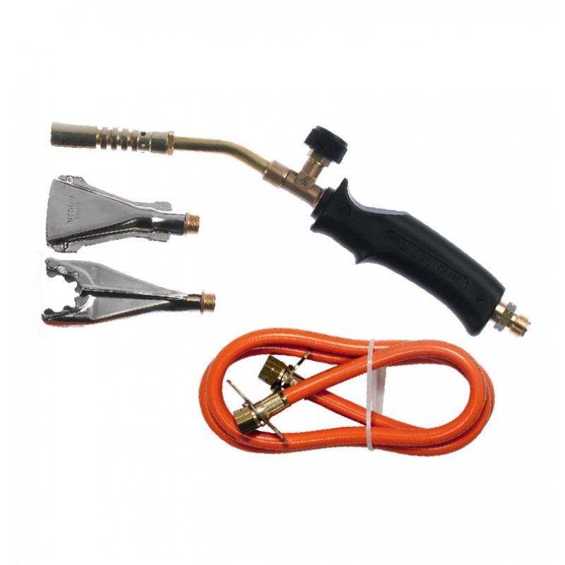 Palnik gazowy trzy dyfuzory 360mm wąż 1,5m (fi-17,40,22)     IDEALGAS - BR-Stalco Leżajsk